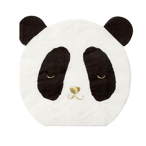 Cute Panda Bear Napkins