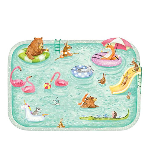 Die Cut Pool Party Placemats