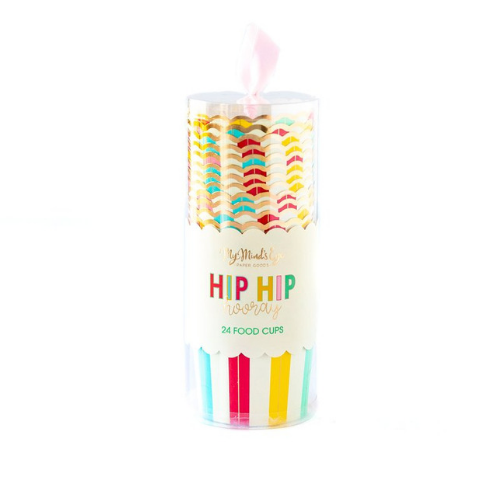 Hip Hip Hooray Baking Cups