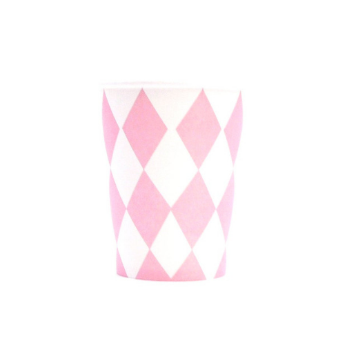 Pink Diamonds Cups