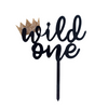 'Wild One' Cake Topper