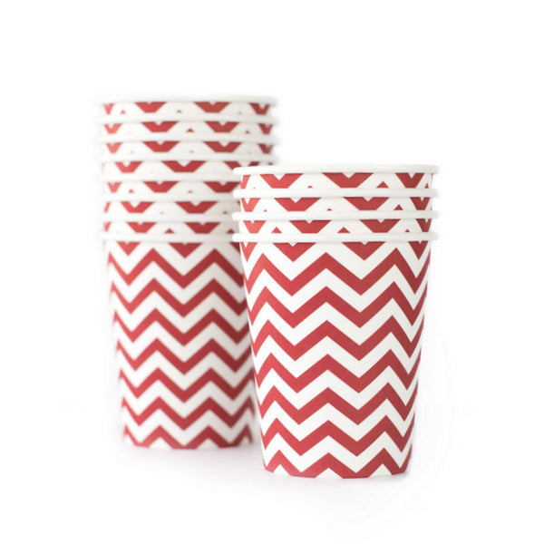 Chevron Red Cup