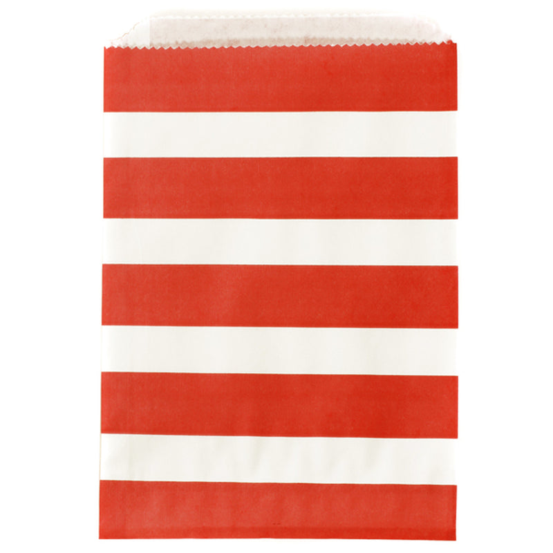 Thick Striped Treat Bags - 5 Styles