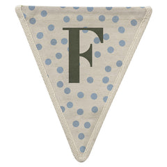Fabric Bunting Letter F
