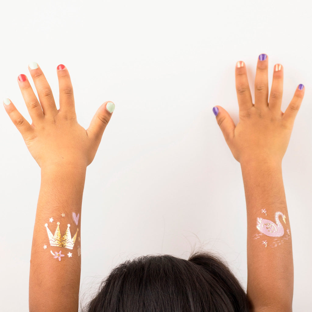 sweet princess temporary tattoos