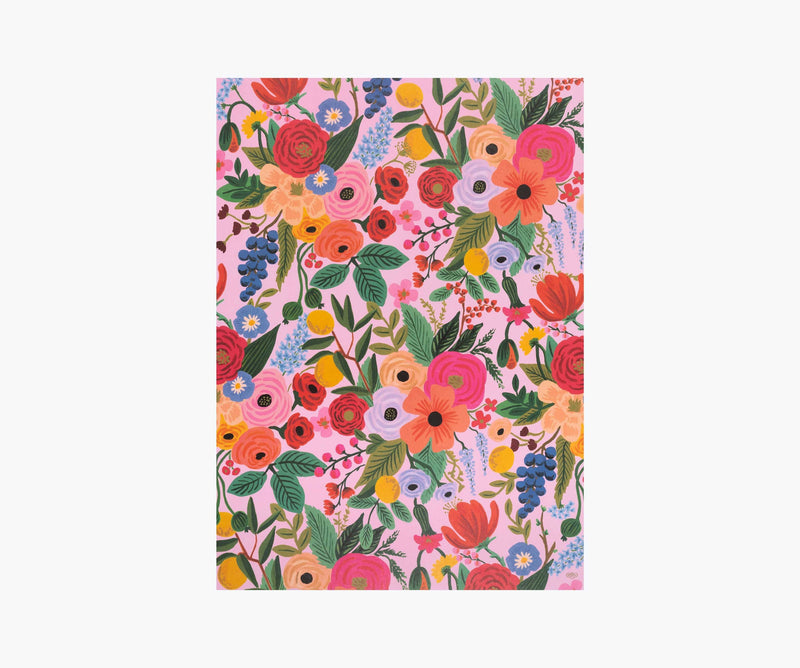 Floral Wrap Sheets, Pink Floral, Jollity & Co