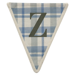Fabric Bunting Letter Z