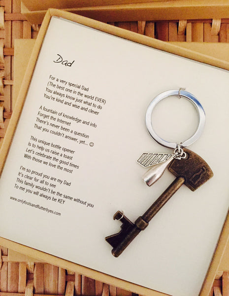 Dad - a sentimental gift for Dad on his Birthday, Fathers Day, or other special celebration