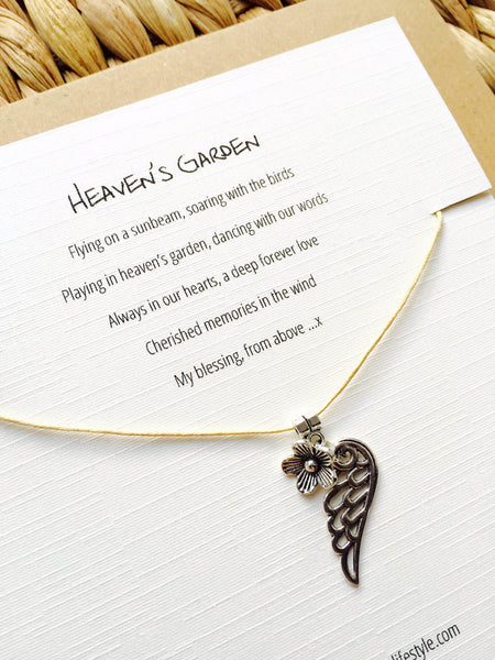 Heavens Garden - An angel baby gift or in remembrance of a lost loved one