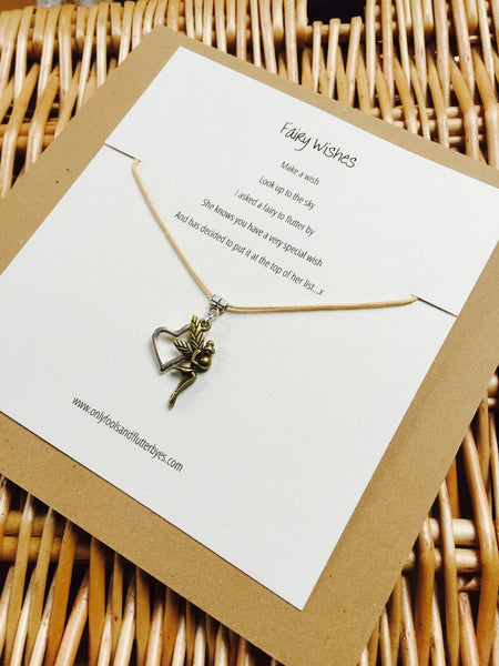 Fairy Wishes - A totally gorgeous fairy gift, ideal for a close friend, niece, or daughter. A gift of encouragement