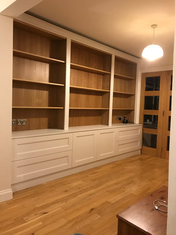 Bespoke Bookcases and Alcove Furniture