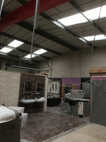 Bathroom and Bedroom Showroom Extension