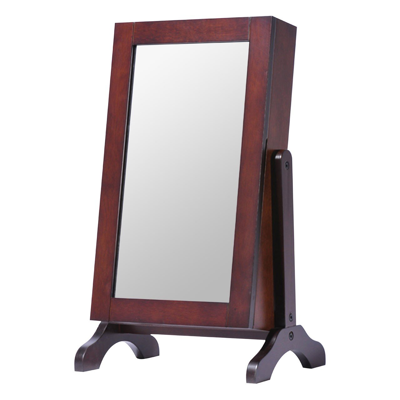 Table Top Jewellery Cabinet Mirror