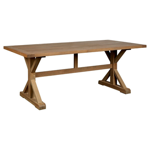 Lyon Aged Grey Dining Table