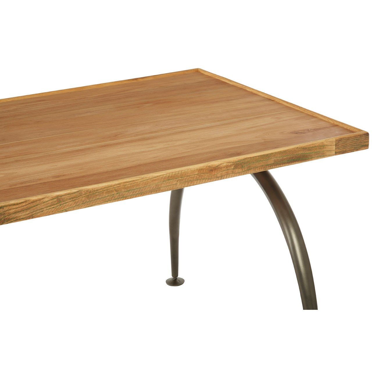 New Foundry Dining Table With Elm Wood Top