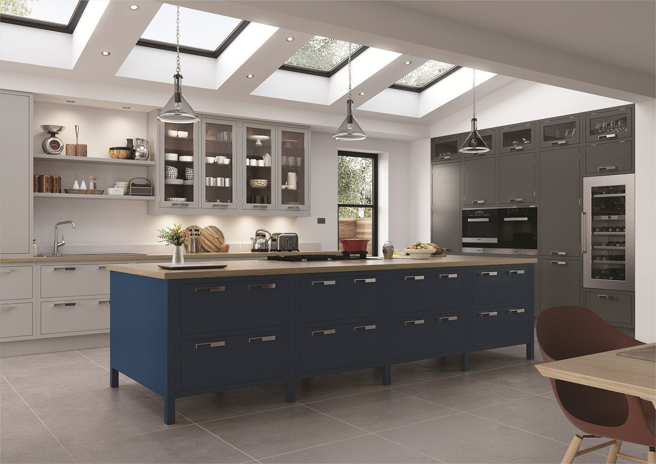 Modern_kitchen_Walnut