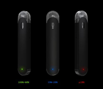 eleaf elven refillable pod system in retail box battery life indicator
