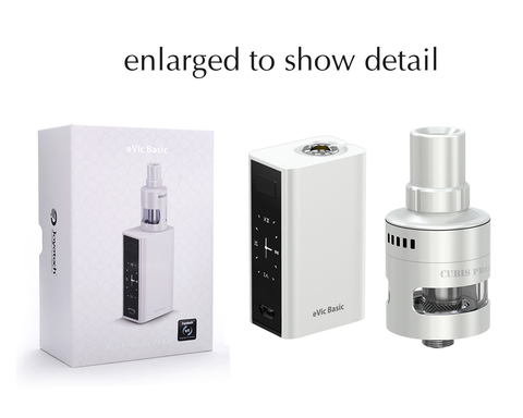 evic basic with cubis mini pro tank detail