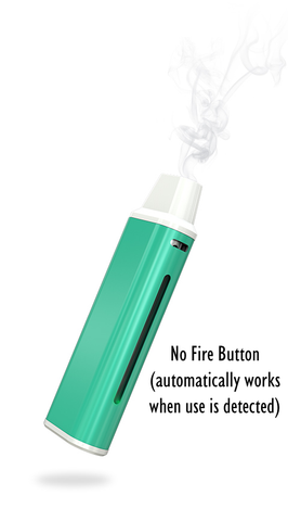 icare mini by eleaf. No Fire Button (automatically works when use is detected)