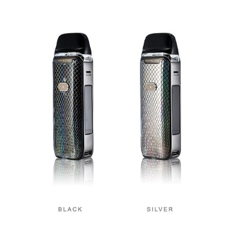vaporesso Luxe PM40 silver and black colors