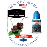 Black Cherry - wfvapors natural fresh maraschino and candy cherry natural USA flavor vape ejuice vapor liquid juice eliquid