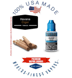 Havana Cigar - wfvapors Classic Cigar Tobacco Blend Natural Flavors Vapor cigar E juice vape eliquid vapor liquid made in USA