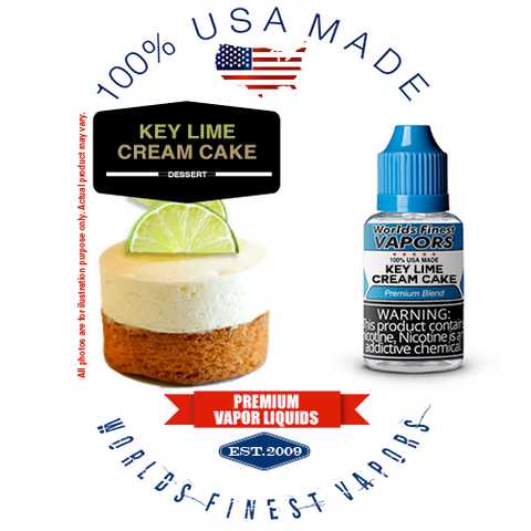Key Lime Cream Cake - wfvapors natural cream natural key lime cream cake vape ejuice vapor juice eliquid ecigarette liquid