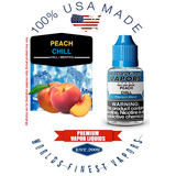 Peach Chill - wfvapors Natural peach with smooth airy menthol Vapor Cigarette E juice vape eliquid vapor liquid American made