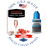 Raspberry Champagne - wfvapors tasty duo of natural raspberries and champagne fresh vape juice balanced natural flavor ejuice
