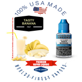 Tasty Banana - wfvapors natural banana oils vape ejuice vapor liquid juice eliquid tasty perfectly ripe yellow banana flavor
