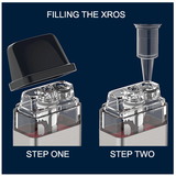 how to fill the Vaporesso Xros Pod System Kit