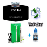 Vapor Cigarette Starter Kit Combo Pack with Tobacco and Menthol Options