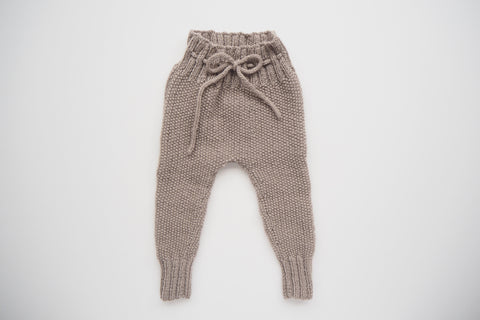 'Auguste' Leggings - Stone - 3m to 12m