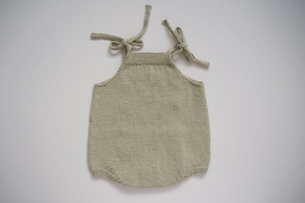 'Suzon' Romper - Sage - 0-6m to 18m-2y - 30% off