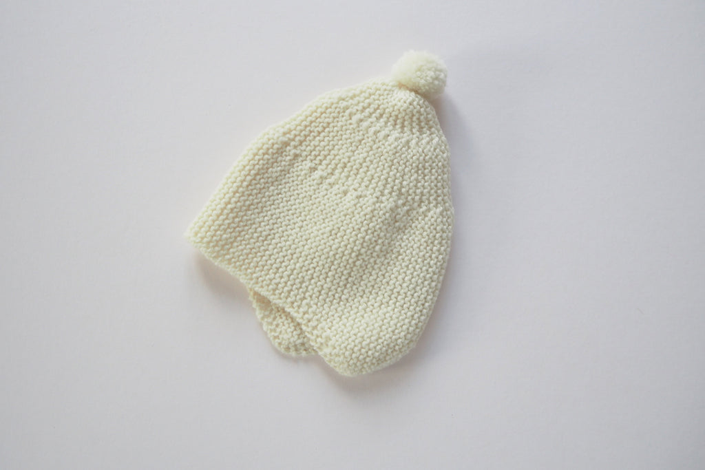 'Cocoon' hat - Milk - Newborn