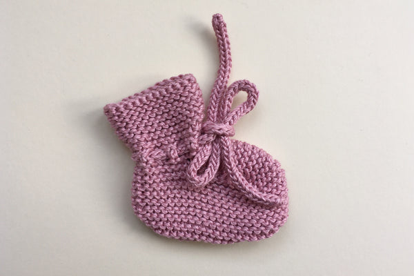 Booties Mimosa - Rosa - Newborn / 6m - 50% off