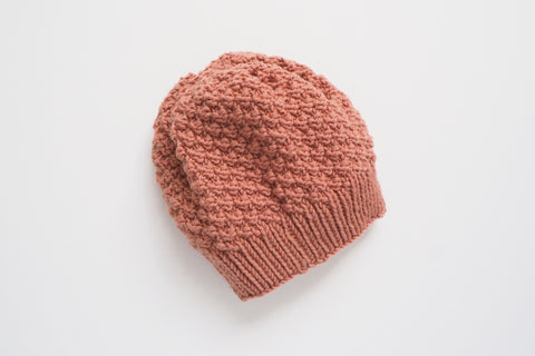 'Hansel' Hat - Rose - 1/2y to 4/6y - 40% off