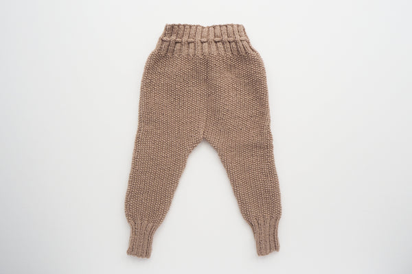 'Auguste' Leggings - Beige Rosé - 3m to 12m