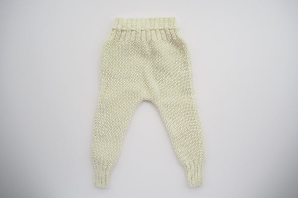 'Auguste' Leggings - Milk - 3m to 12m