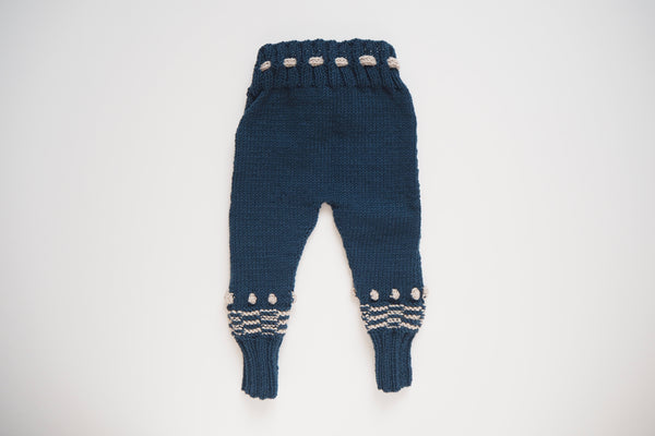 Leggings 'Anni' - Midnight & Frost- 3m to 6y - 30% off