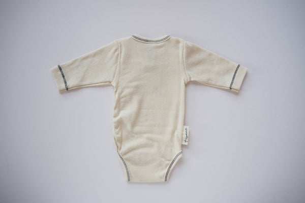 Body in Organic Cotton - Natural - Newborn - By Engel