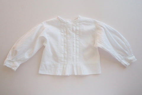 Blouse with pintucks - 12/18m