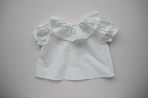 Blouse with a collar - 0/3m