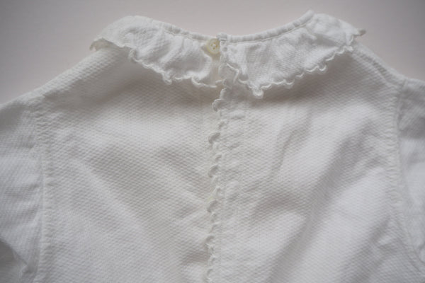 White Blouse - 0/3m