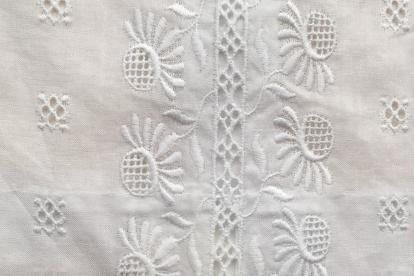 Embroidered white blouse - 6m