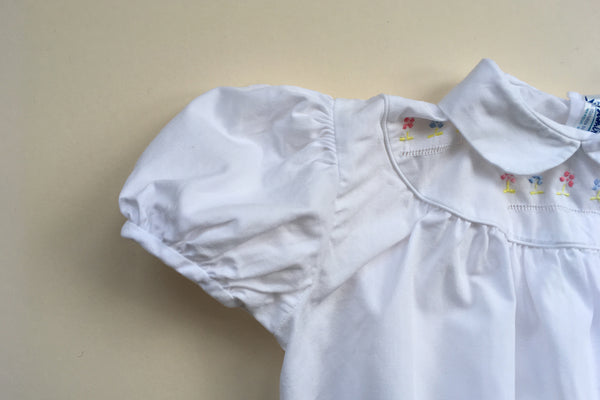 Blouse with hand-embroidery - 18m - 50% off