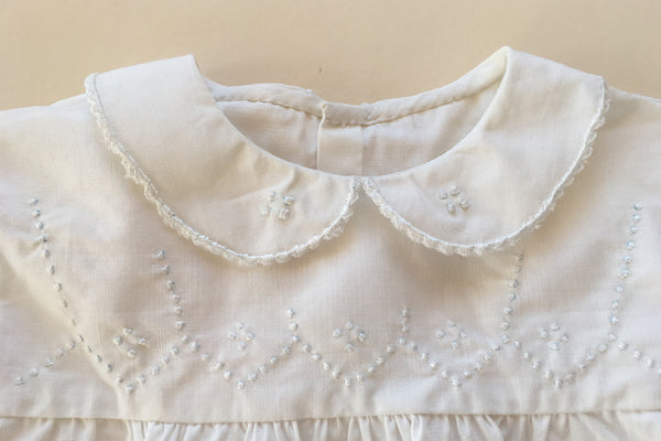 White blouse with embroideries - 18m/2y