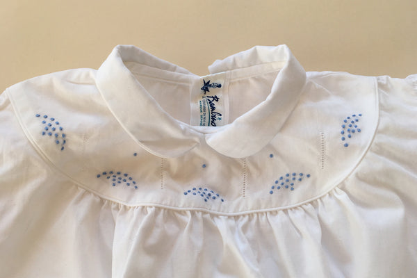 Blouse with blue dots - 18m / 2y