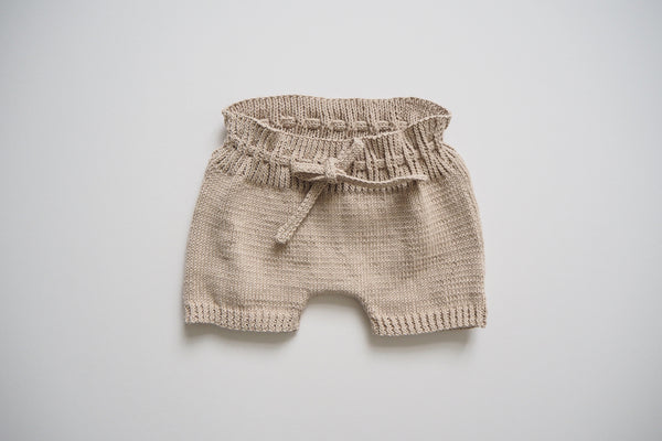 Shorts - Antique Pink - 0/6m to 2/3y - 100% cotton - 50%off
