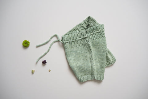 Shorts ORGANIC Cotton - Fig Leaves - 0/1m to 2/3y - 50%off